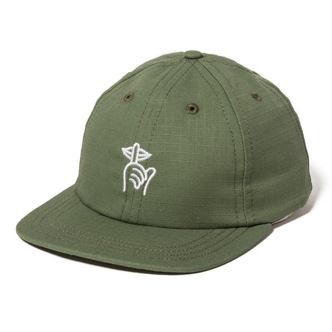 The Quiet Life - Ripstop Shhh Polo Hat - Army