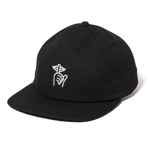 The Quiet Life - Ripstop Shhh Polo Hat - Black