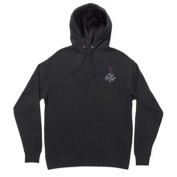 The Quiet Life - Rose Pullover Hoodie - Black
