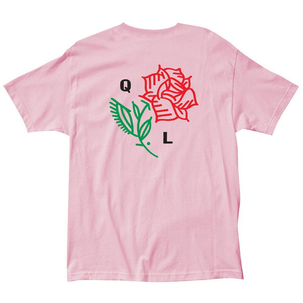 The Quiet Life - Rose T-Shirt Premium Fit - Pink