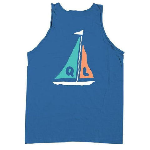 The Quiet Life - Sail Tank Top - Royal