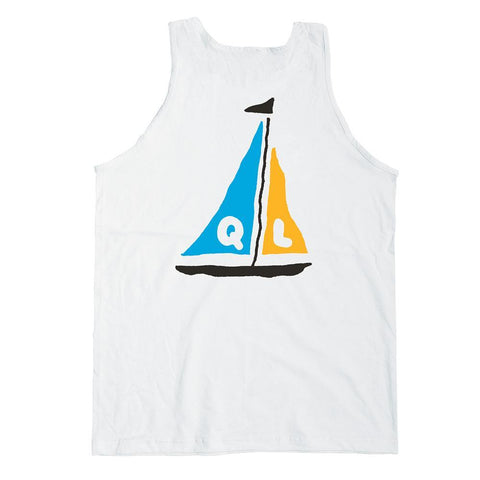 The Quiet Life - Sail Tank Top - White