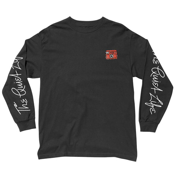 The Quiet Life - Shakey Cat L/S T-Shirt - Black