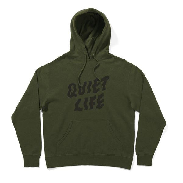 The Quiet Life - Shakey Pullover Hoodie - Heather Army
