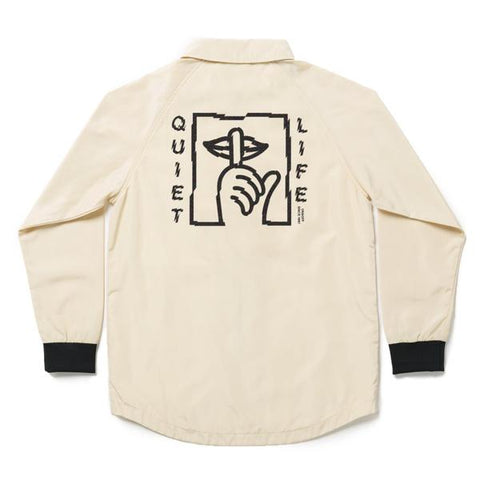 The Quiet Life - Shatter Monsoon Jacket - Bone