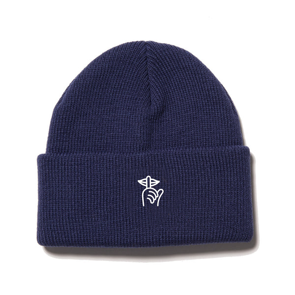 The Quiet Life - Shhh Beanie  - Navy