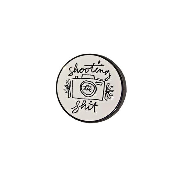 The Quiet Life - Shooting The Shit Lapel Pin - Metal