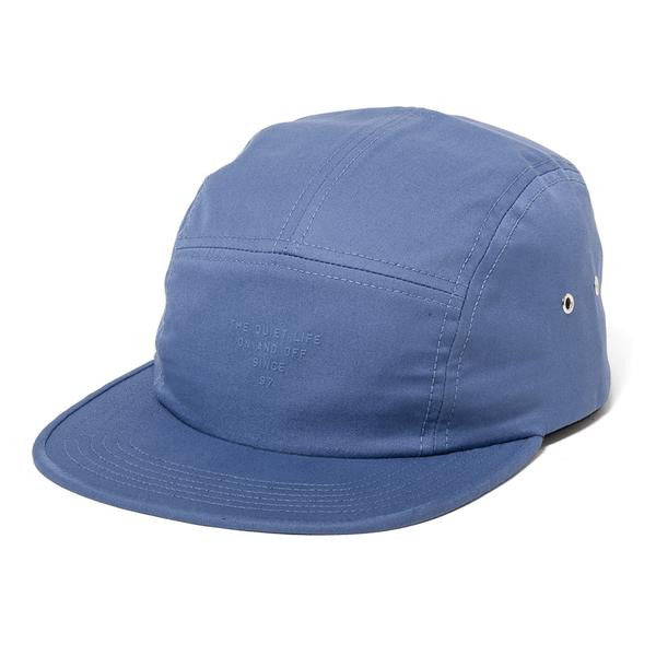 The Quiet Life - Simple 5 Panel Hat - Blue