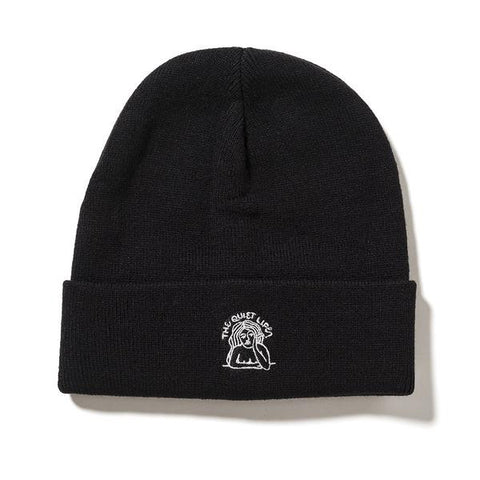 The Quiet Life - Smoking Girl Beanie - Black