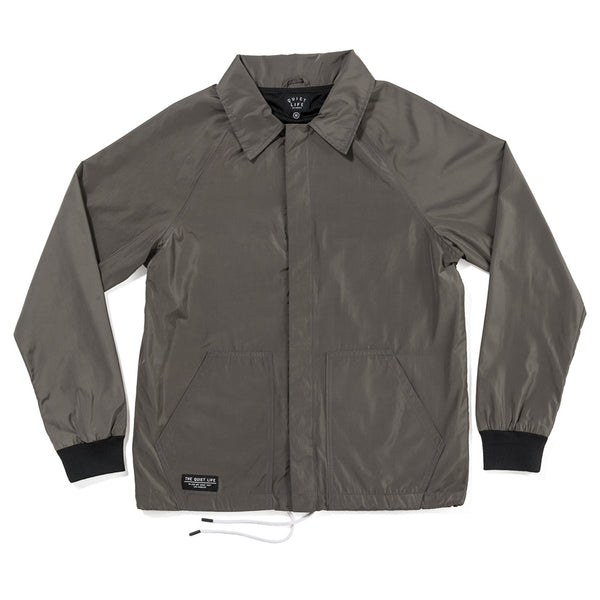 The Quiet Life - Smoking Girl Garage Jacket - Charcoal