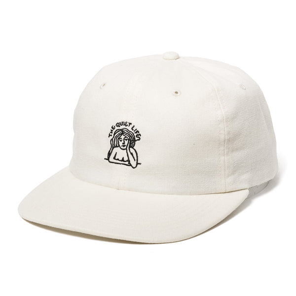The Quiet Life - Smoking Girl Polo Hat  - Natural