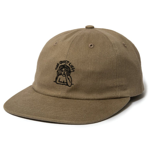 The Quiet Life - Smoking Girl (SP17) Polo Hat - Tan