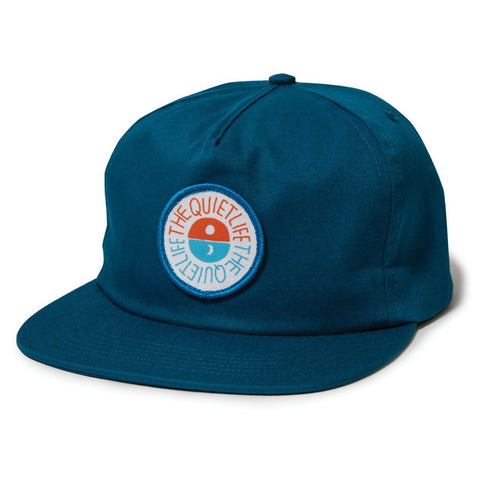 The Quiet Life - Solar Relaxed Snapback - Blue Jay