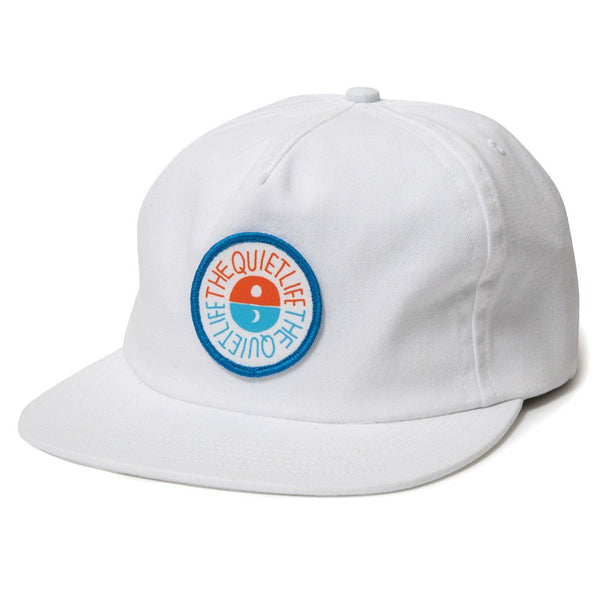 The Quiet Life - Solar Relaxed Snapback - White