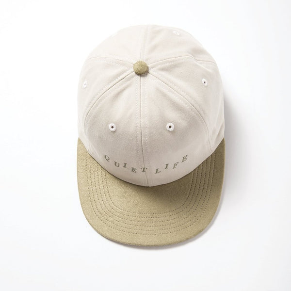 The Quiet Life - Stagger Polo Hat - Bone/Sage