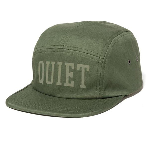 The Quiet Life - Tonal 5 Panel Camper Hat - Army