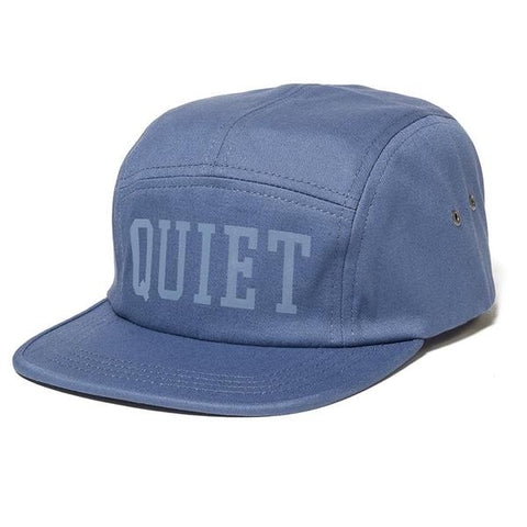 The Quiet Life - Tonal 5 Panel Camper Hat - Blue