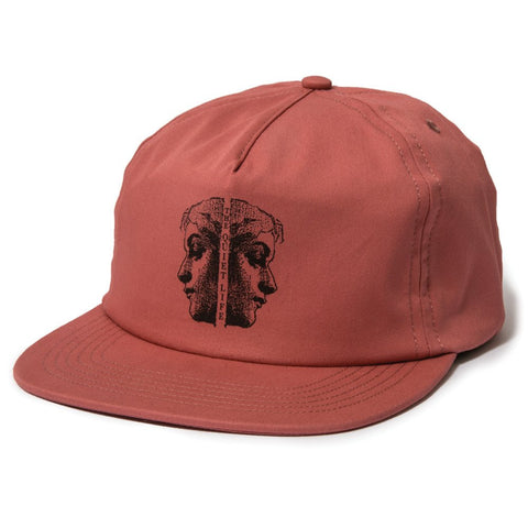 The Quiet Life - Two Faced Relaxed Snapback - Nautical Red