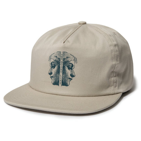 The Quiet Life - Two Faced Relaxed Snapback - Stone