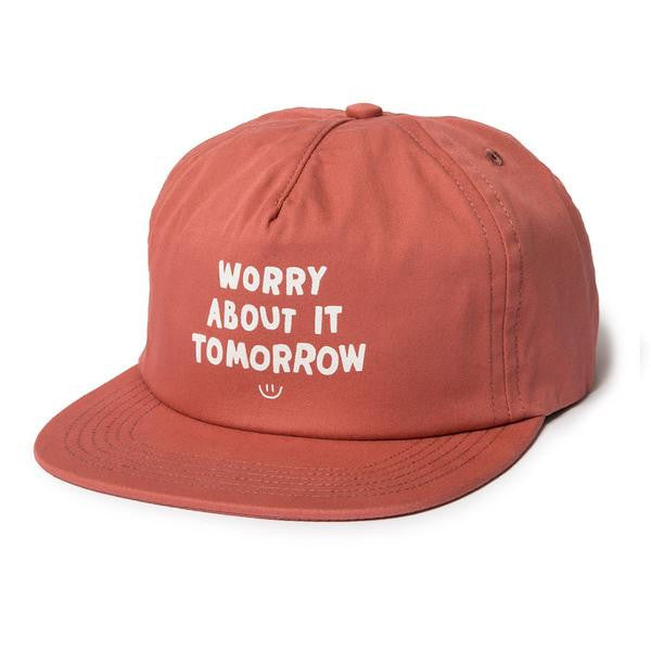 The Quiet Life - Worry Relaxed Snapback - Red