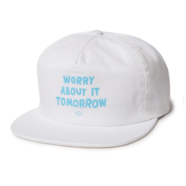 The Quiet Life - Worry Relaxed Snapback - White