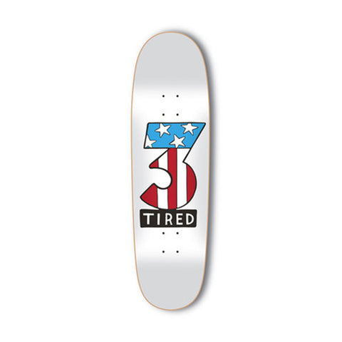 Tired - Number 3 Deck Donny Shape - 9.25""