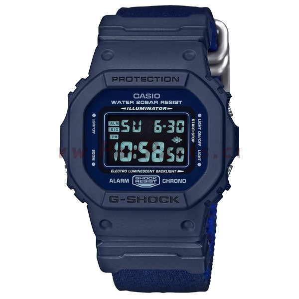 Casio - DW5600LU-2 - Navy
