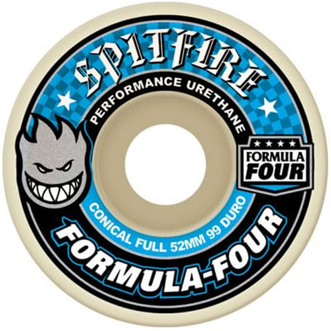 Spitfire - Formula 4 99d Conical FULL Assorted Sizes - Blue/White