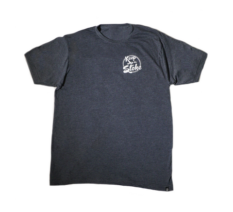 Classic Tri Tee Navy