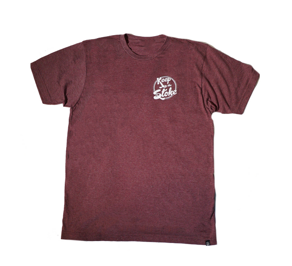 Classic Tri Tee Red