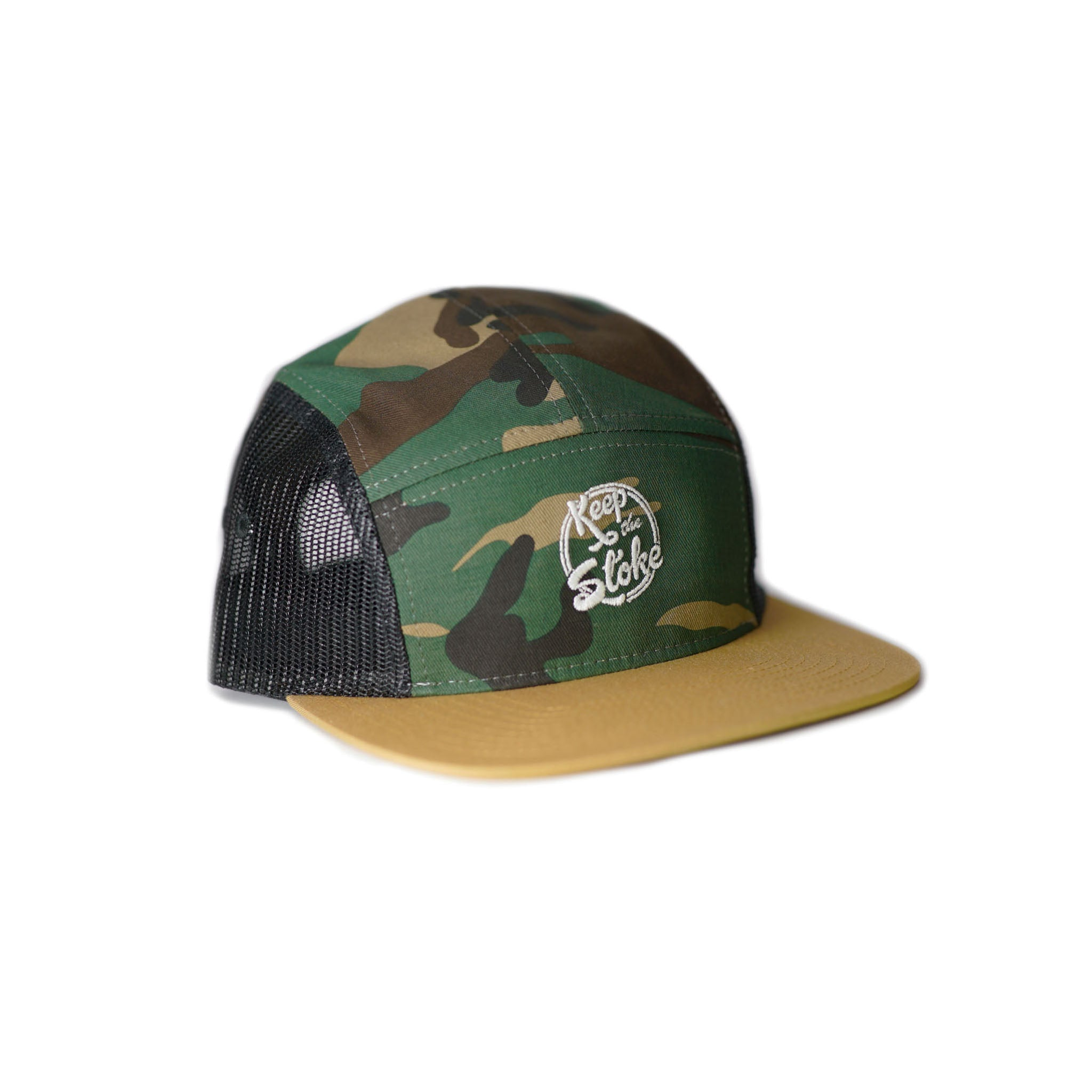The Camo - Camp Cap