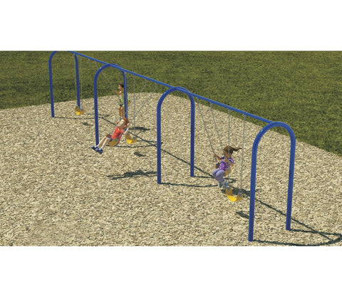 "3.5"" Arched Swing Frame - PlaygroundPark"