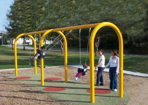 "5"" Arched Swing Frame - PlaygroundPark"