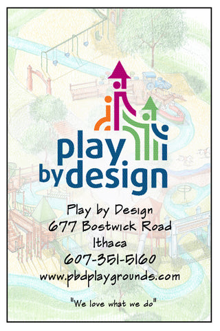 Personalized Information Sign - Innovative Playground Equipment