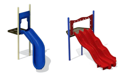 Chute Slide Entrance Section - PlaygroundPark