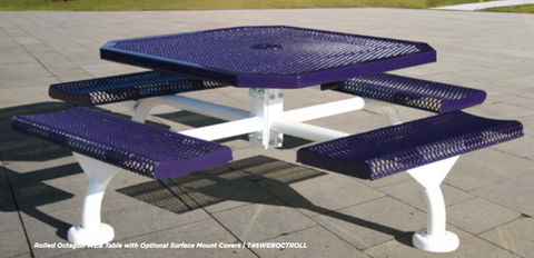 Octagon Web Table - Innovative Playground Equipment