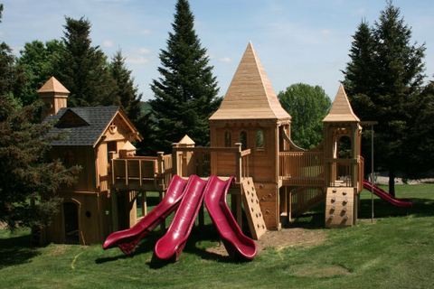 Chute Slide Straight Sectional - PlaygroundPark