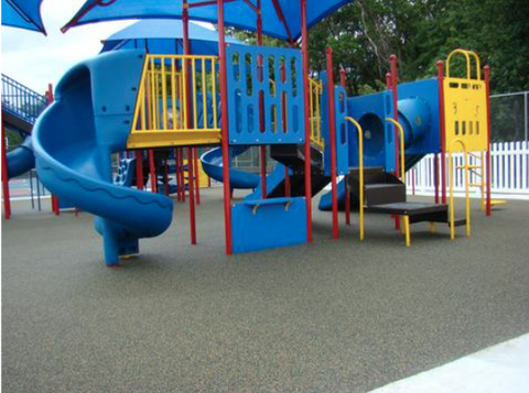 Bonded Rubber Mulch/Pour-In-Place - PlaygroundPark