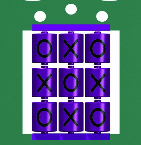 Tic-Tac-Toe Panel - PL - Innovative Playground Equipment