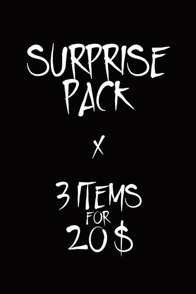 SURPRISE PACK - 3 items or more!
