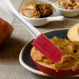 Evelots Mini Spatulas-Silicone-BPA Free-Cooking/Baking-Up to 446 Degrees-Set/6