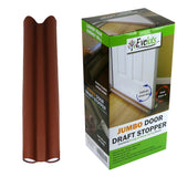 Evelots Door/Window Draft Stopper-Double-No Repositioning-No Cold/Dust-36 Inch