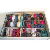 Evelots Foldable-Collapsable Storage Box Drawer Closet Dresser Organizers