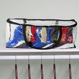 Evelots Sport Hat/Cap Storage Bag-Baseball-Sturdy Handles-Up to 15 Hats Per Bag