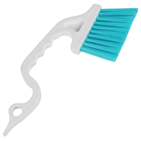 Evelots 2 in 1 Window Track Cleaning Tool-Brush/Scraper-Sliding Door-Tough Areas
