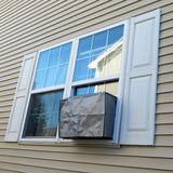 Evelots A/C Air Conditioner Outdoor Window Cover-Elastic Straps-10 to 15,000 BTU