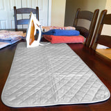 Evelots Ironing Blanket/Pad-Magnetic-Heat Resistant-Travel-41 Inches -SaveSpace
