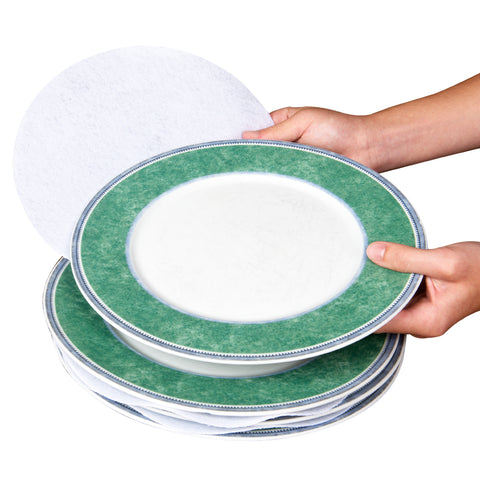 Evelots Plate Separators-Soft Felt-3 Sizes-Fine China/Dish Protectors
