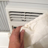 Evelots Air Conditioner Cover-A/C-Window-Indoor-Elastic-Double Insulation-No Air