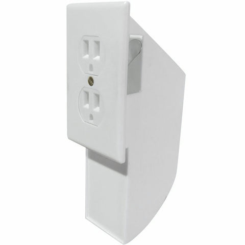 Evelots Hidden Wall Outlet Diversion Safe, Fake Safe to Hide Cash and Valuables